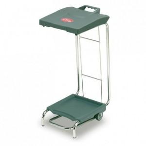 Portable bin bag trolley