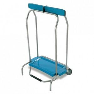 Portable bin bag holder