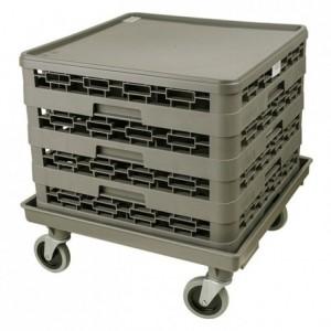 Chariot pour casier sans poignée 540 x 540 x 50 mm