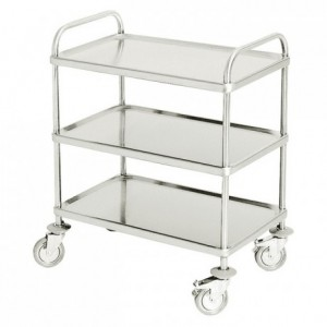 Serving trolley 3 tiers 840 x 550 x 960 mm