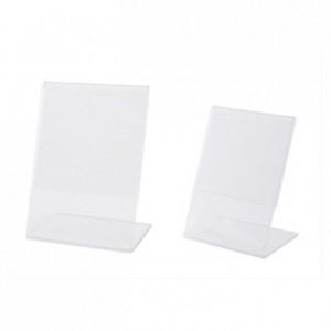 Chevalet pour étiquette 40 x 60 mm (lot de 10)