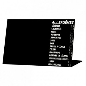 Allergen information easel (10 pcs)