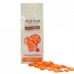 FunCakes Flavoured Chocolate Melts Orange 250g