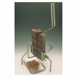 Manual chocolate flaking machine