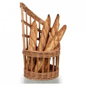 Wicker basket for bread Ø 280 mm H 855 mm