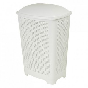 Laundry basket with lid 425 x 270 x 645 mm