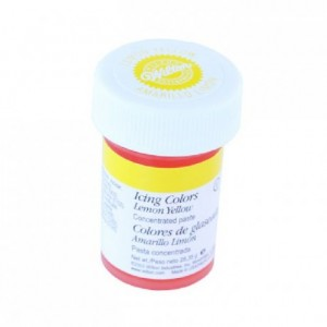 colorant alimentaire en gel wilton jaune citron 28 g - Colorant Wilton
