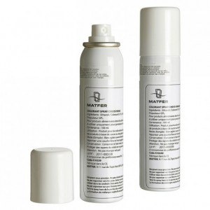 Colorant Chock en aérosol blanc 100 mL