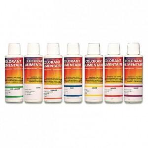 Colorant liquide alimentaire jaune 125 mL