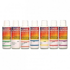 Food grade liquid colouring, White