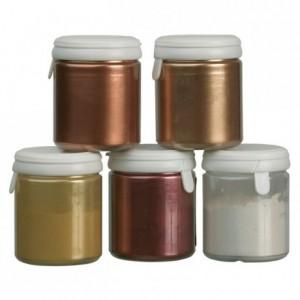 Colorant poudre alimentaire argent 25 g