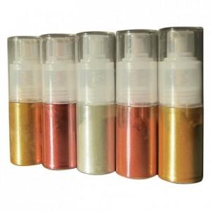 Colorant poudre en atomiseur rouge 10 g