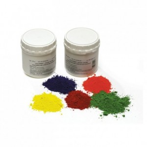 Food safe colouring powder (lacquer), Green