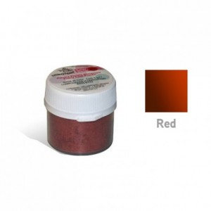 Color decor pearled red 5 g