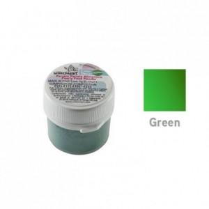 Colorant poudre perlé vert 5 g