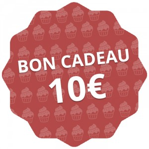 Bon cadeau 10 €