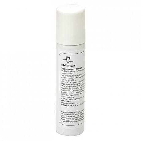 Matfer - Spray food pearly bronze colouring 100 mL
