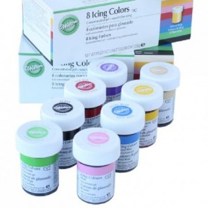 Colorants gel Wilton 8 x 28 g