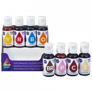 Color Right Wilton kit 8 colorants