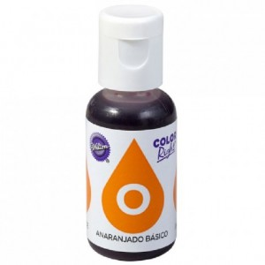 Color Right Wilton Orange 19 mL