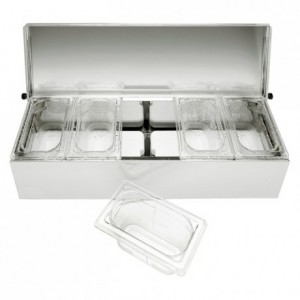 Condibox 5 bacs PC cristal