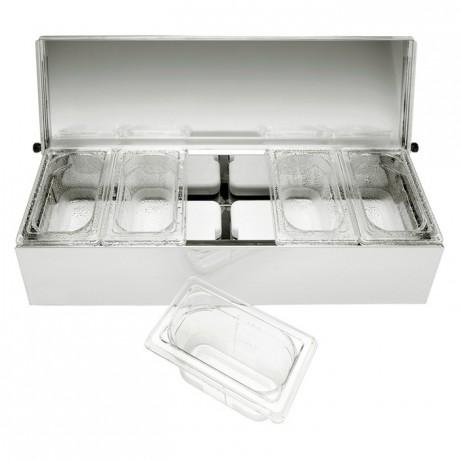 Condibox 5 bacs PC cristal