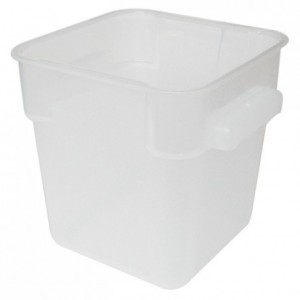 Square container for ingredients PP 4 L