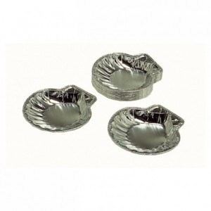 Coquille St Jacques aluminium CO 10 P (lot de 100)