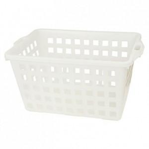 Perforated rectangular basket 800 x 520 x 400 mm