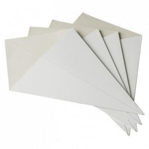 Cornet à frites carton blanc (lot de 200)