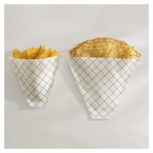 French fries or pancake paper cone 100 g (1000 pcs)