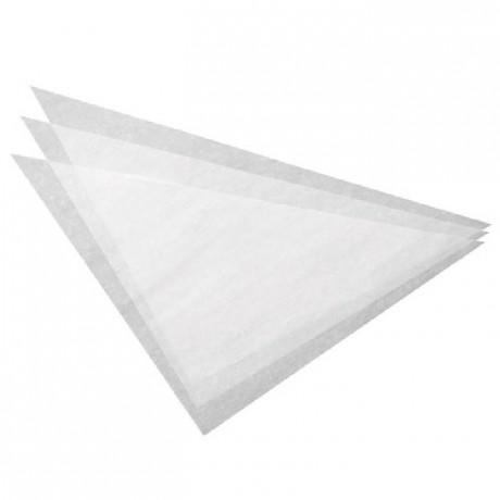 Wilton Parchment Triangles 37,5cm pk/100