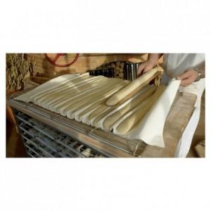 Dough fermentation hemmed linen 600 mm x 2,3 m (pack of 10)