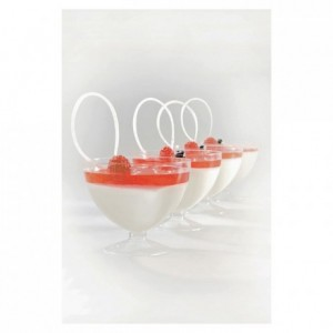 Dessert cup round 17,5 cL (set of 100)