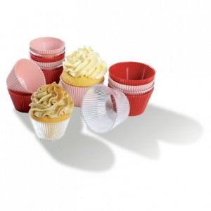 Coupelle Cupcakes rose 12 cL (lot de 100)