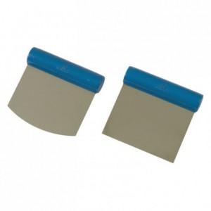 Coupe pâte rigide droit en inox 110 x 105 mm
