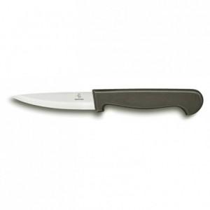 Couteau d'office Ecoline manche noir L 80 mm