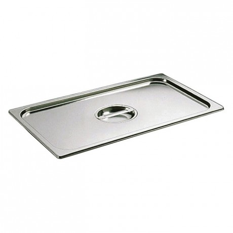 Lid with handle stainless steel GN 1/2