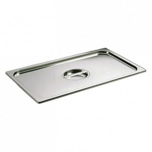 Lid with handle stainless steel GN 2/1