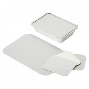 Cardbord cover for tray with vertical edge ref 361400 (1000 pcs)