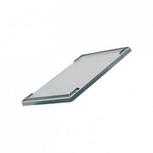 Couvercle clipsable pour bac gerbable 600 x 400 mm