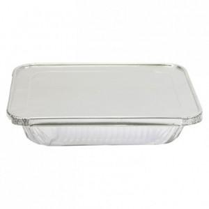 Couvercle coiffant aluminium GN 1/2 (lot de 100)