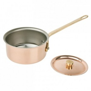 Lid Elegance copper/stainless steel Ø 90 mm