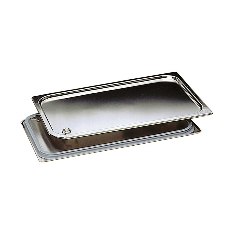 Matfer couvercle tanche inox pour bac sans anse gn 1 1 for Bac de cuisson inox