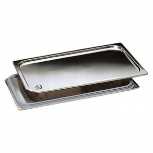 Spill Proof lid stainless steel GN 1/3