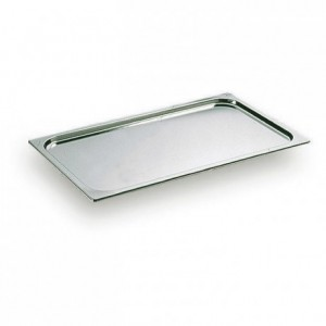 Flat lid no handle stainless steel GN 2/1