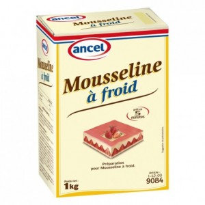 Mousseline cream preparation 1 kg