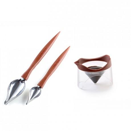 Cuillères plume Spoon Decor par 2