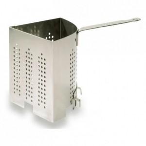 Triangular pasta basket stainless steel