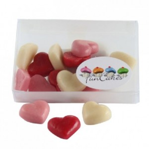FunCakes Marzipan Hearts Small Assorti 15st.